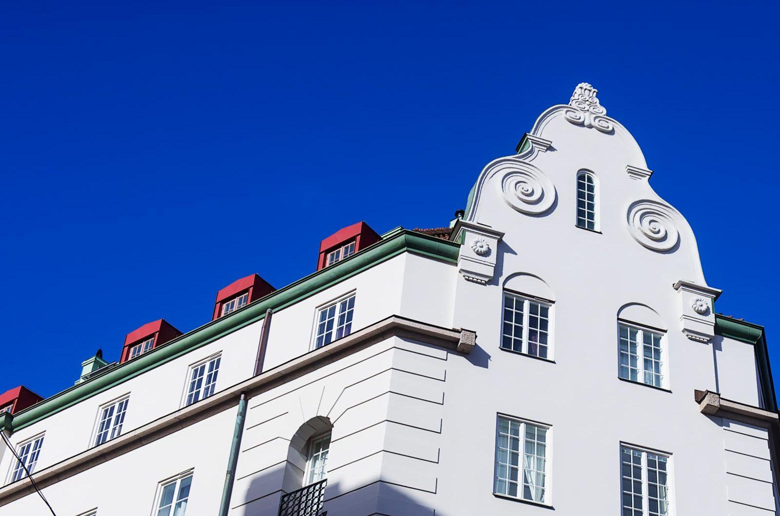 Stockholms fasad och ställnings AB, utför alla typer av Fasadrenoveringar