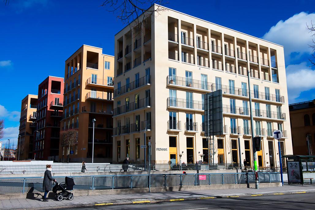 Kvarteret Svea fanfar, Stockholm