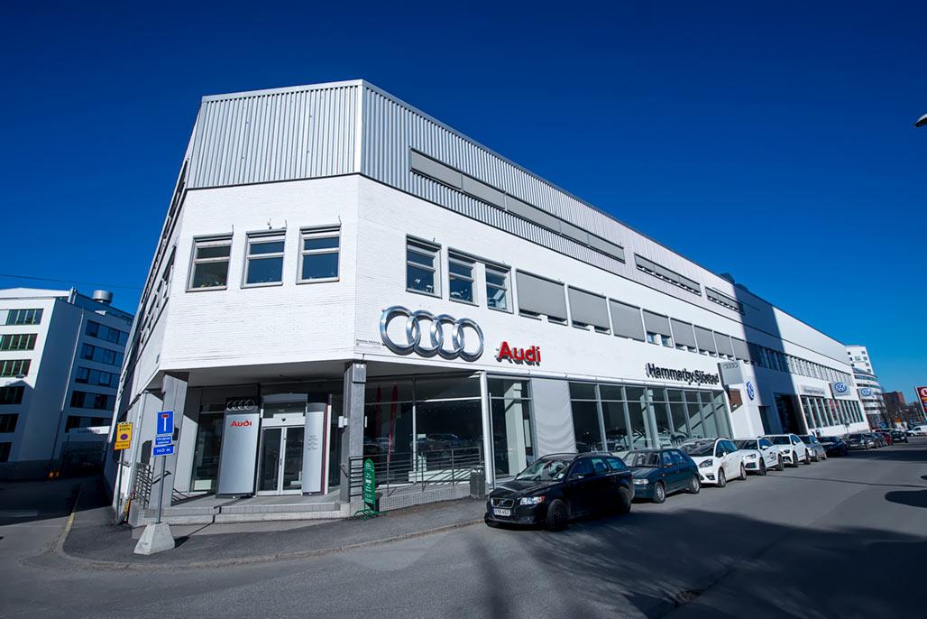 Audi-VW, Hammarby Sjöstad Stockholm