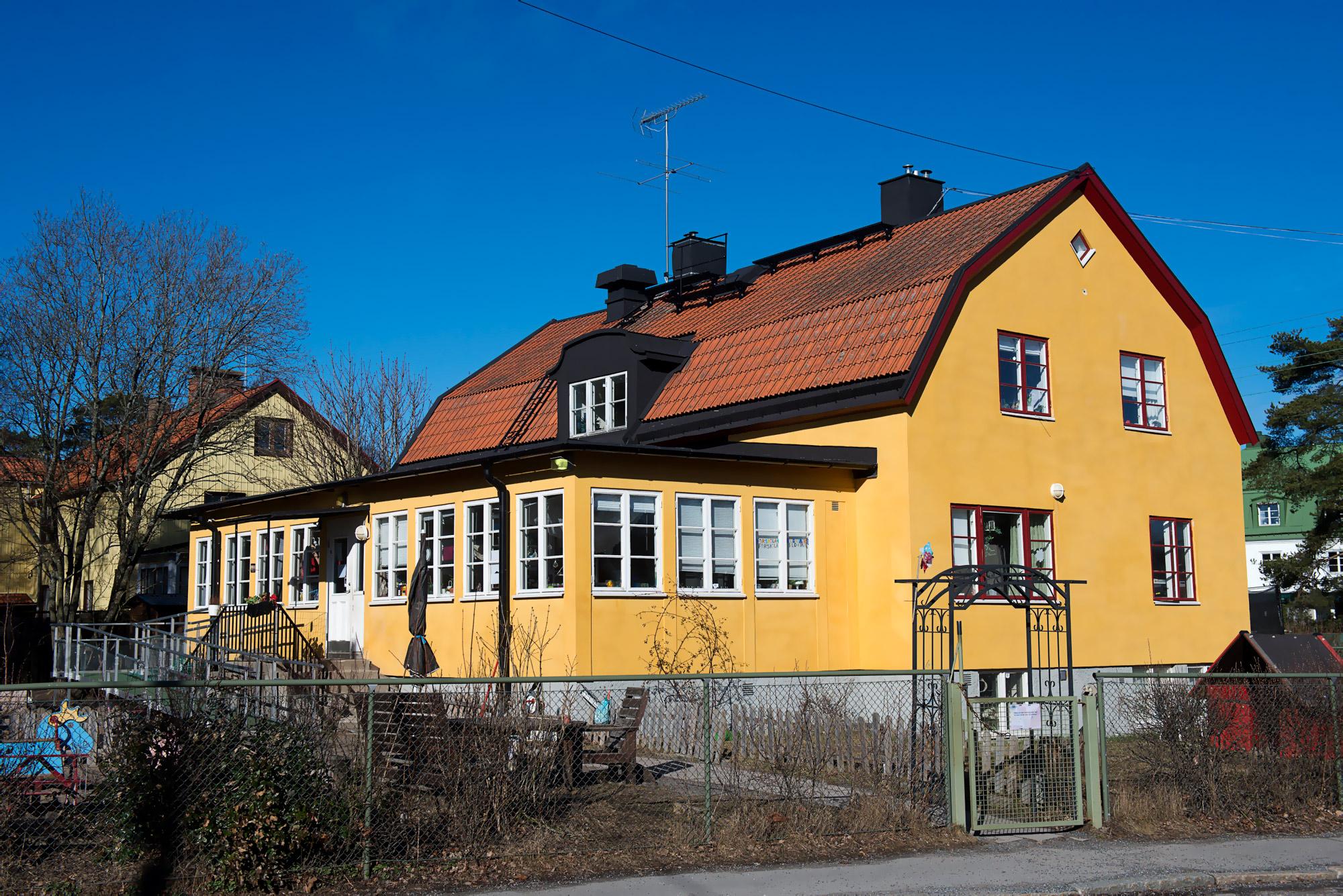 Hägerstensvägen, Stockholm